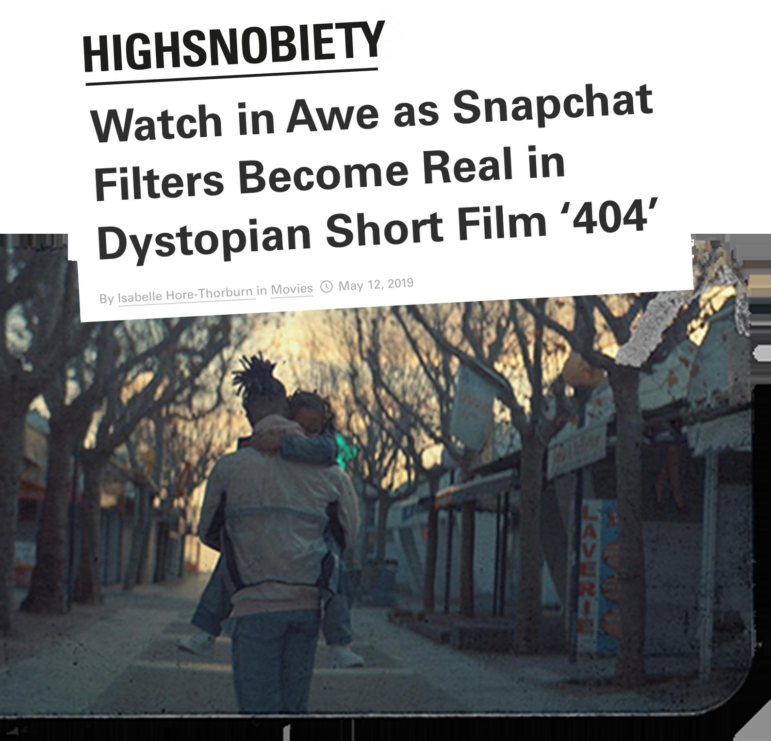 HIGHSNOBIETY 404